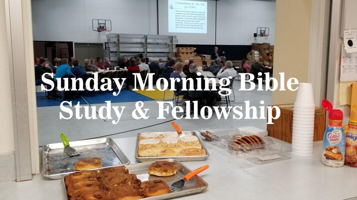 Fellowship Time and Adult Bible Study